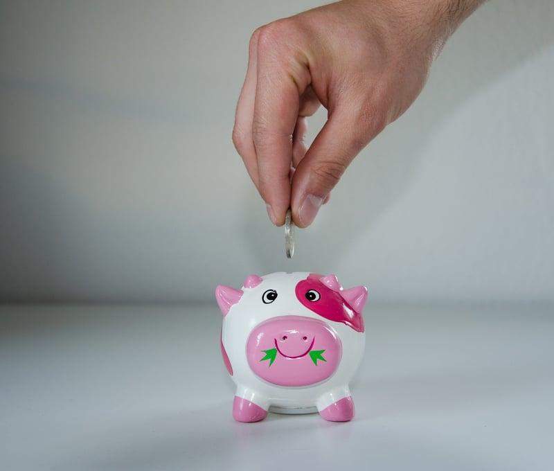 Azure Piggy Bank