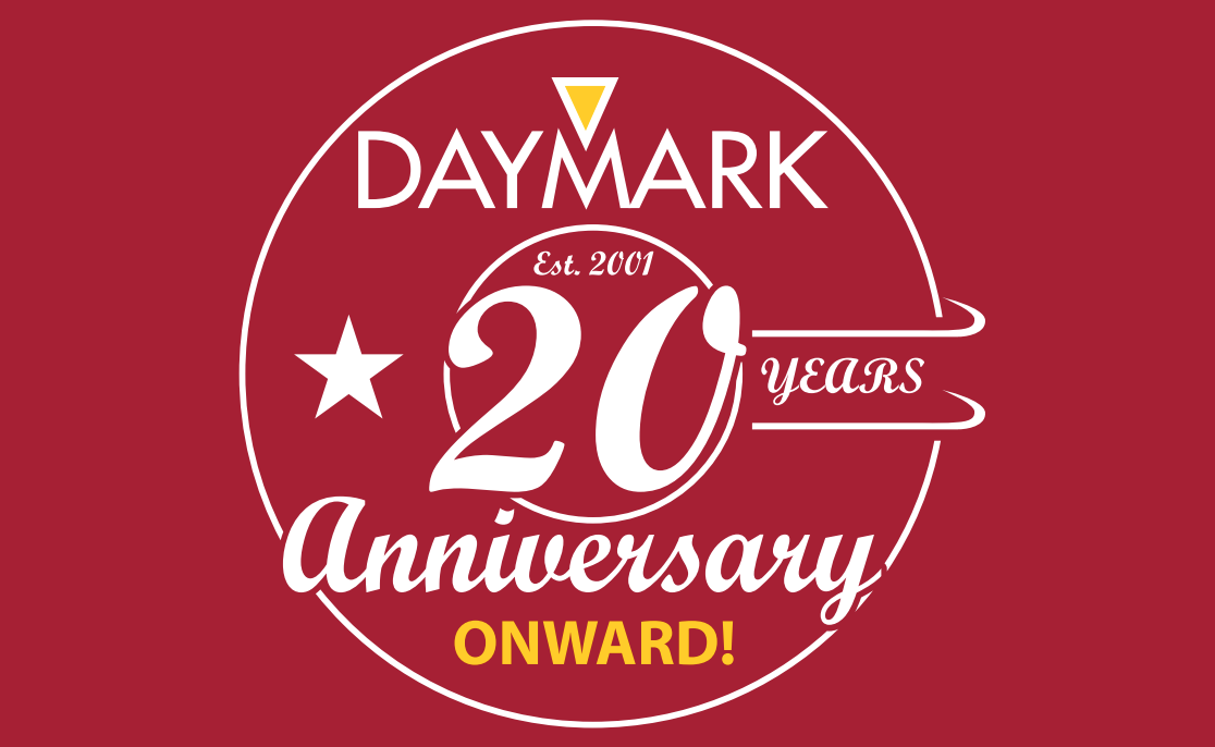 Daymark 20th Anniversary Logo