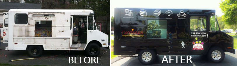 Ice Cream Truck B&A Side by Side 2018