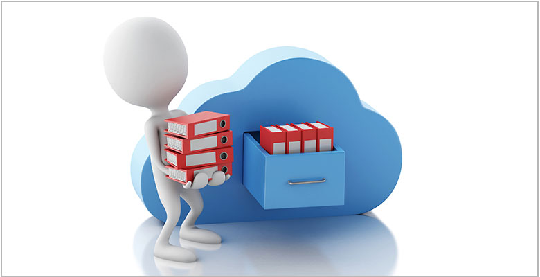 Dedupe cloud storage