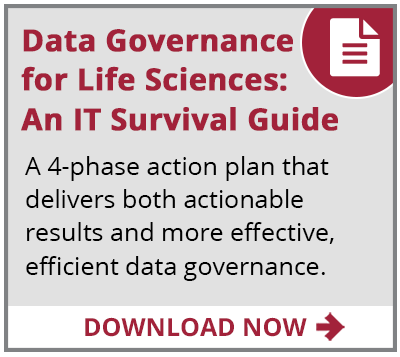 data governance IT guide for life sciences